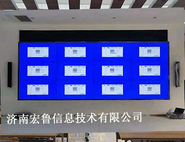 临沂某大数据中心 LCD70寸拼接屏